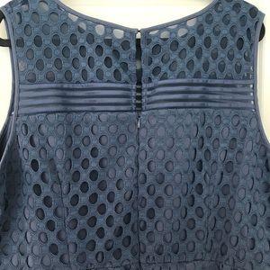 Lane Bryant Dresses - Lane Bryant blue fit n flare dress